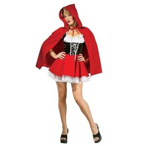 Red Riding Hood Halloween Costume